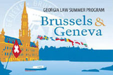 Graphic for Brussels & Geneva summer program