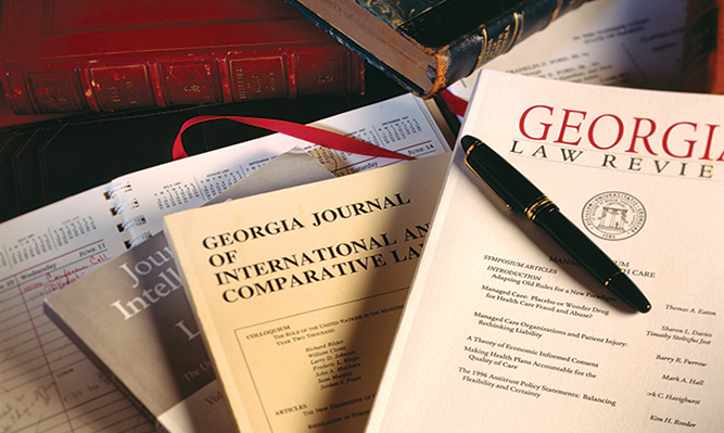 Georgia Law's three student-edited legal journals