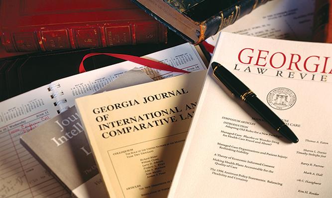 Georgia Law's three student-edited legal journals