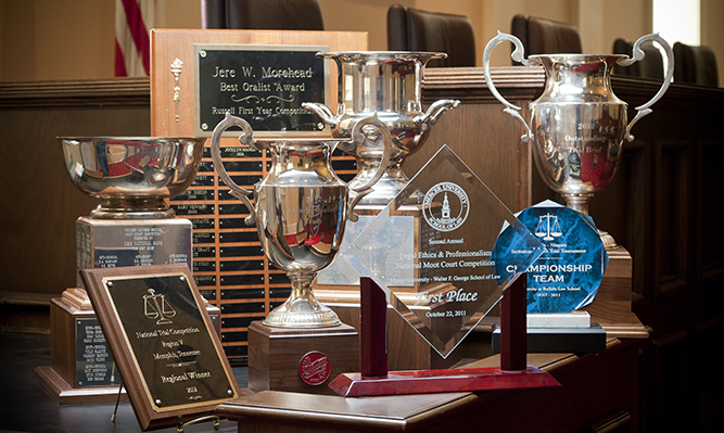 awards from advocacy competitions