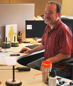 IT Help Desk Manager Brad Grove