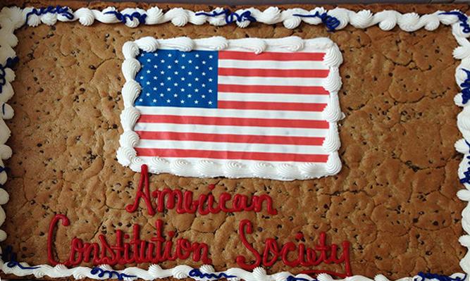 ACS cookie cake