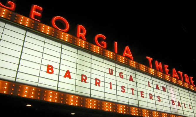 barristers ball at georgia theatre