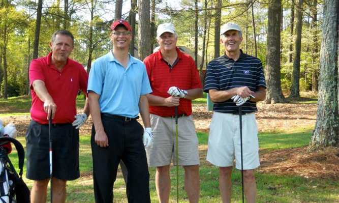 SBA golf tournament faculty team
