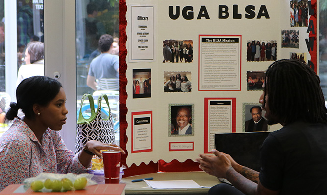 student org fair black law student association