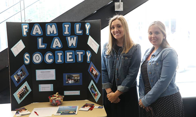 student org fair family law