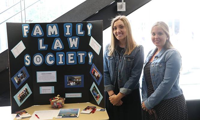 student org fair family law