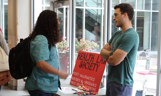 student org fair health law society