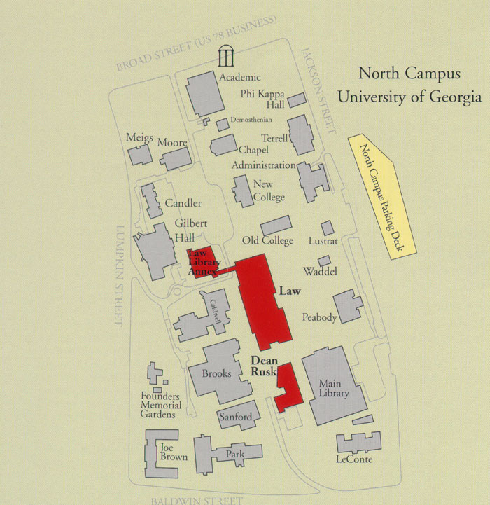 Parking & Campus Maps | .law.uga.edu
